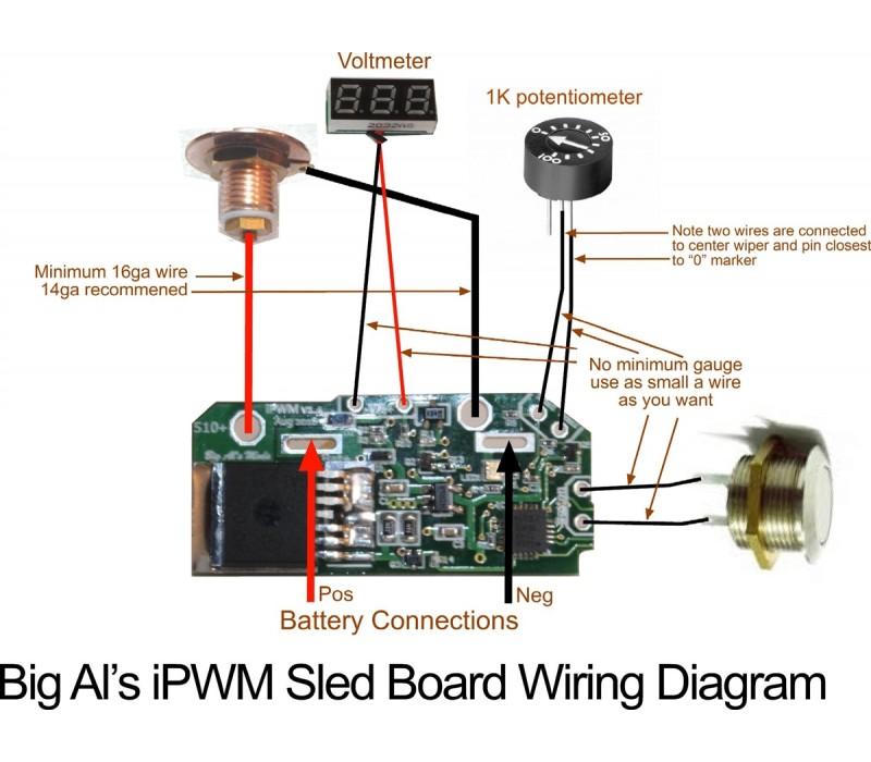 DIY Box Mod Parts - Big Al's iPWM Okl T Box Mod Wiring Diagram on rheostat circuit diagram, mod box connector, xbox 360 controller diagram, simple led circuit diagram, mod box parts,