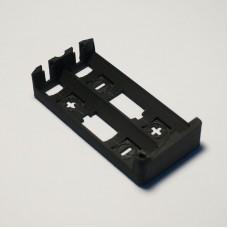 Custom 3D Printed Dual 18650 Battery Sled