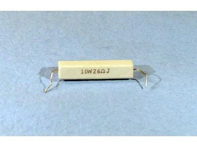 26 Ohms 10W Resistor