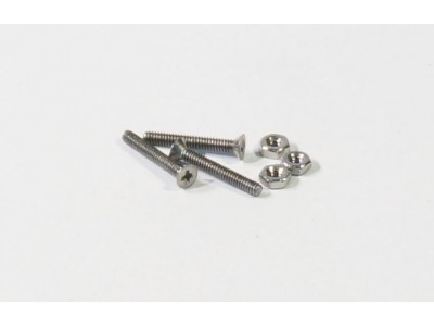 #0 7/16 Screws (flat head)