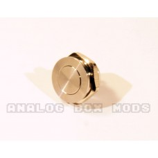 FDV 12mm Low Profile Fire Button - Silver
