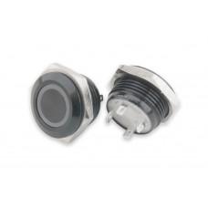 ABM 16mm Low Profile - LED - Black