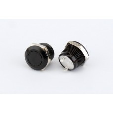 ABM 12mm Low Profile Fire Button - Black