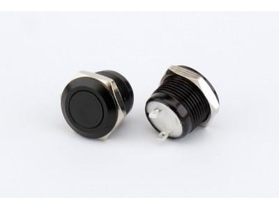 ABM 12mm Low Profile Fire Button - Black