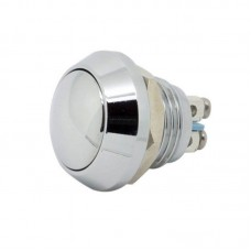 12mm Chrome Momentary Push Button Switch