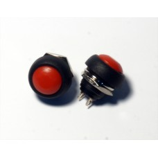 12mm Red Momentary Push Button Switch